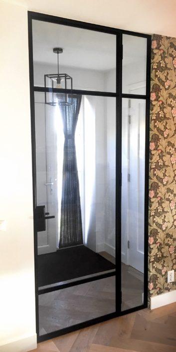 Stalen deur Zaandam